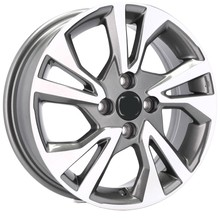 ALLOYS 16'' 4X100 HONDA CITY CIVIC CRX JAZZ LOGO