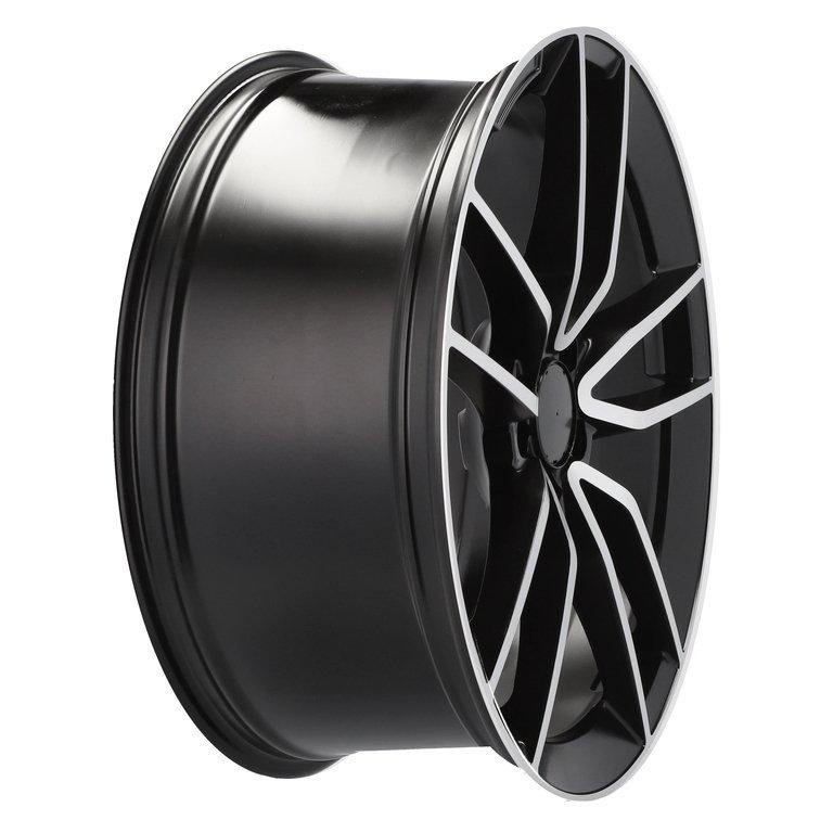RACING LINE RBK5610 hliníkové disky 9,5x20 5x112 ET45 BLP - Black + polished