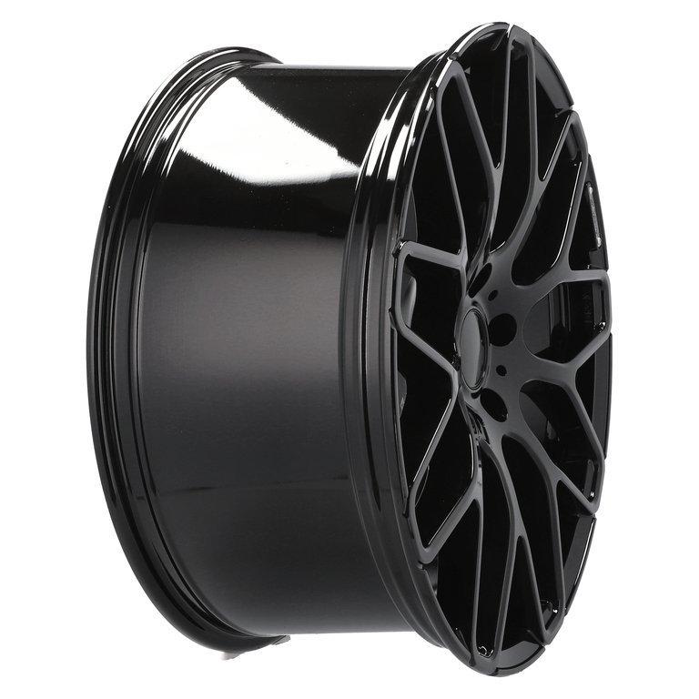 RACING LINE RAT967 hliníkové disky 10x22 5x130 ET33 BL - BLACK