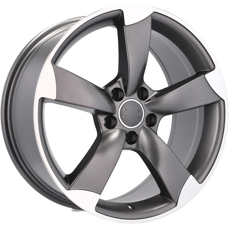 Rotor Style 16 Audi A3 8p A4 B7 B8 B9 A6 C5 C6 Q2